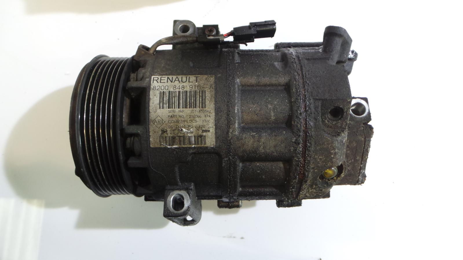 renault master iii 2.3 dci air conditioning pump compressor